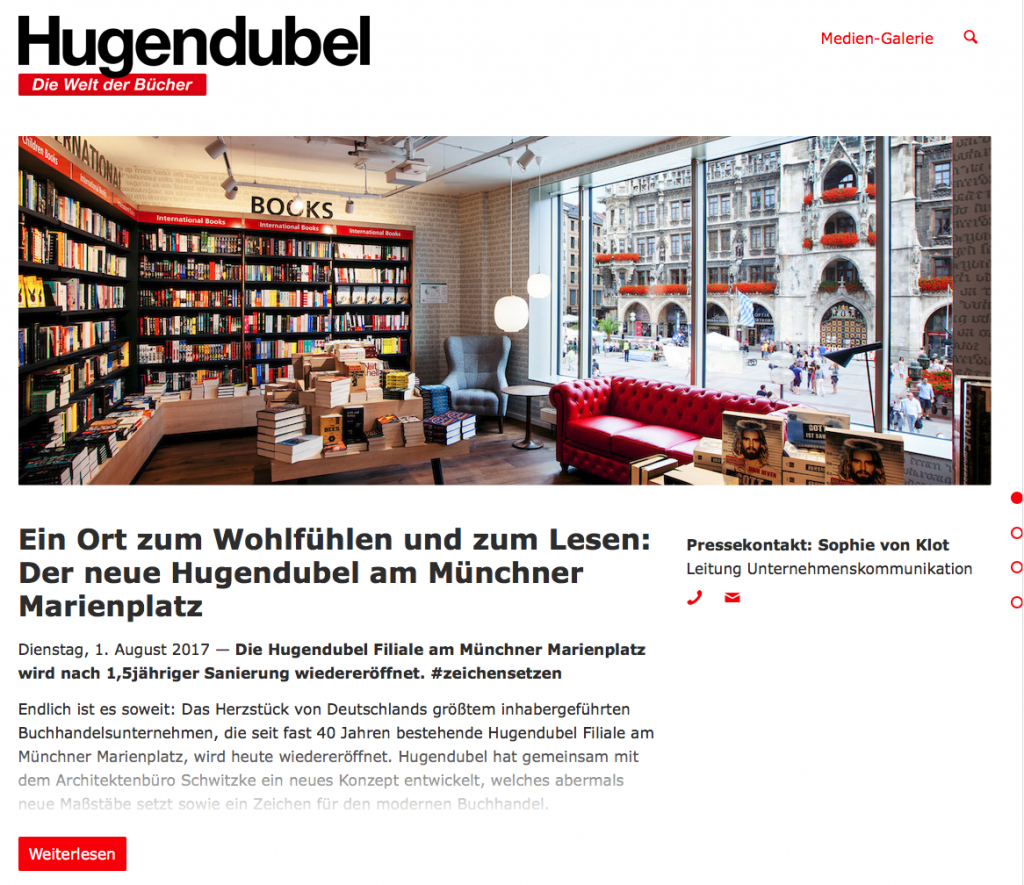 Hugendubel Newsroom